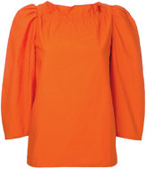 Atlantique Ascoli round neck blouse