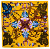 Christian Lacroix Silk Floral Scarf w/ Tags