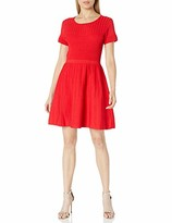 Parker Women's Hamilton Fit-n-Flare Knit Dress