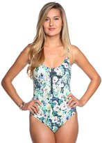 Nanette Lepore Hula Hibiscus Goddess One Piece Swimsuit 8116917