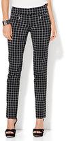 New York & Co. 7th Avenue Pant - Slim-Leg - Modern - Pull-On - Ultra Stretch - Black