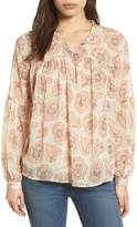 Lucky Brand Exploded Floral Top