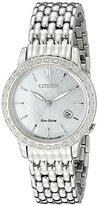 Citizen Eco-Drive Women's EW2280-58D Diamond Watch