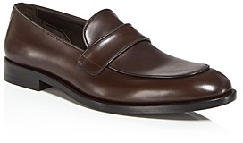 Canali Men's Leather Penny Loafers