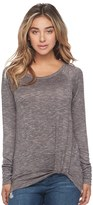 Juicy Couture Women's Twist Hem Tee
