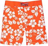 Appaman FLORAL-PRINT TWILL SWIM TRUNKS