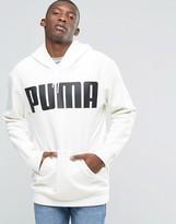 Puma Oversized Hoody In White