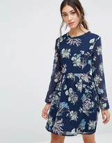 Yumi Floral Long Sleeve Dress