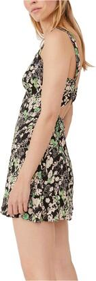 Free People Celia Floral Minidress