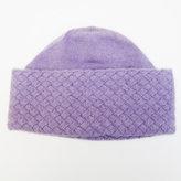 Portolano Basket Weave Cashmere Hat