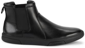 Calvin Klein Gideon Leather Chelsea Boots