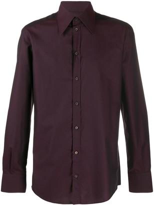 Dolce & Gabbana Micro Dots Jacquard Shirt
