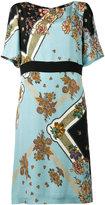 Etro floral-patterned dress - women - Silk - 44