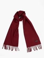 Lanvin Deep Red Wool Scarf