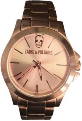 Zadig & Voltaire Spring Summer 2019 Pink Steel Watches
