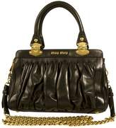 Miu Miu Leather shoulder bag