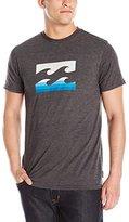 Billabong Men's Team Wave Spin Short Sleeve T-Shirt