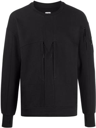 C.P. Company Lens Detail Cotton Sweatshirt