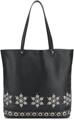 Etro Floral Studded Tote Bag