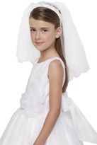 Us Angels Beaded Communion Veil (Little Girls & Big Girls)