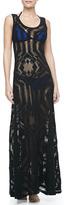 Jean Paul Gaultier Lace Coverup Maxi Dress
