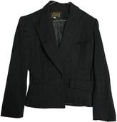 Norma Kamali Grey Cotton Jacket for Women Vintage