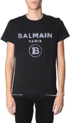 Balmain Round Neck T-shirt