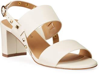 Neiman Marcus Myla Studded Slingback Sandal
