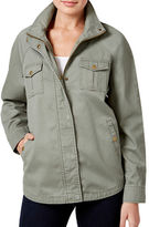 Style And Co. Embroidered Back Utility Jacket