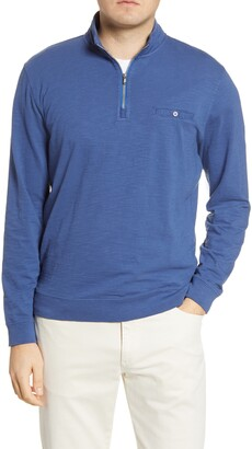 johnnie-O Kaene Regular Fit Half Zip Pullover
