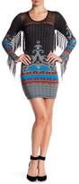 Sky Kutty Printed Fringe Dress