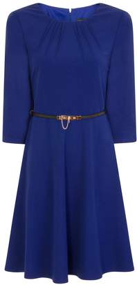 Paper Dolls Outlet Perth Pleated Neck Skater Dress