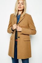 Jack Wills Chepmell Wool Overcoat