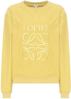 Loewe Anagram cotton-jersey sweatshirt
