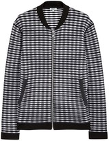 Kenzo Grey Waffle-knit Sweatshirt