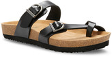 Eastland Women's Sandals BLACK - Black Tiogo Leather Sandal - Women