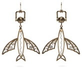 Valentino Flying-fish drop earrings