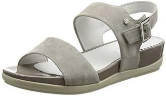 Stonefly Eve 9, Women's Wedge Heels Sandals, Grey (Taupe 423), (38 EU)