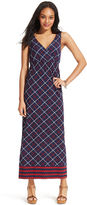 Tommy Hilfiger Printed Sleeveless Maxi Dress