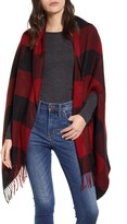Madewell Buffalo Check Cape Scarf