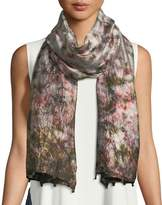 Eileen Fisher Hand-Loomed Dyed Silk Scarf