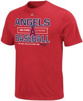 Majestic MLB Men's T-Shirt, Los Angeles Angels Authentic Experience