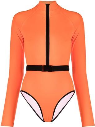 Noire Swimwear Surf-Up long-sleeve swimsuit