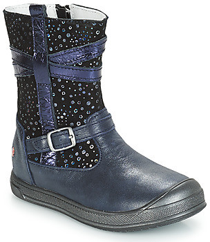 GBB NARCISSE girls's Mid Boots in Blue