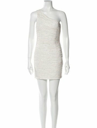 HANEY Silk Mini Dress w/ Tags White