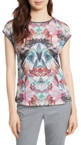 Ted Baker Women's Mirrored Minerals Mixed Media Tee