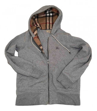 Burberry Grey Cotton Knitwear & Sweatshirts
