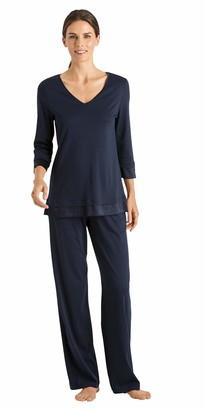 Hanro Women's Lamia 3/4 Sleeve Pajama Set