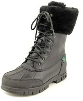 Lauren Ralph Lauren Quinta Round Toe Leather Snow Boot.