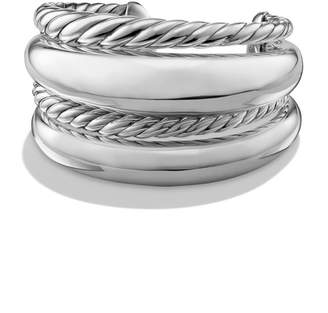 David Yurman Pure Form Four-Row Bracelet in Sterling Silver